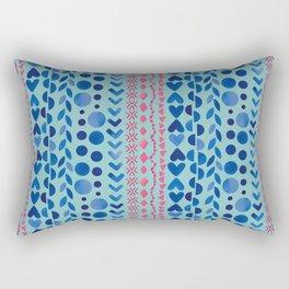 Watercolour Shapes - Magic Villa Rectangular Pillow