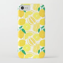 Lemon Harvest iPhone Case