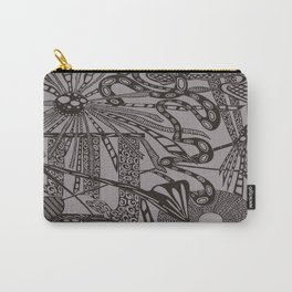 Industrial Black Carry-All Pouch