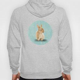 Portrait of a little bunny Hoody