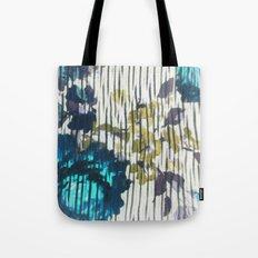 Blue Floral Tote Bag