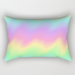 Rainbow Ripples Rectangular Pillow