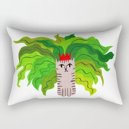 Cat queen Rectangular Pillow