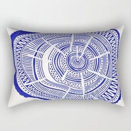 Ponderosa Pine – Navy Palette Rectangular Pillow