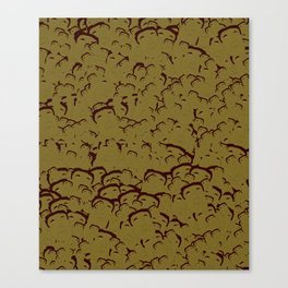 Mateo Scattered Print Canvas Print