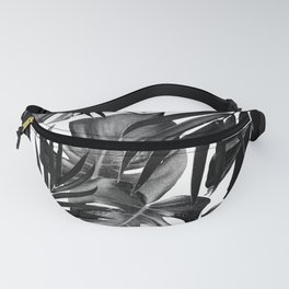 Tropical Jungle Leaves Pattern #10 #tropical #decor #art #society6 Fanny Pack