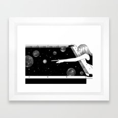 Big Bang Framed Art Print