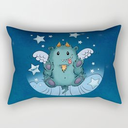 Twinkle Toes the Happy Chaos Monster Rectangular Pillow
