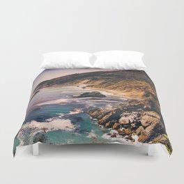 Big Sur Pacific Coast Highway Duvet Cover