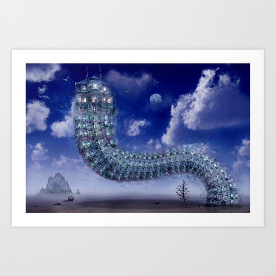 Kreative Architektur Art Print