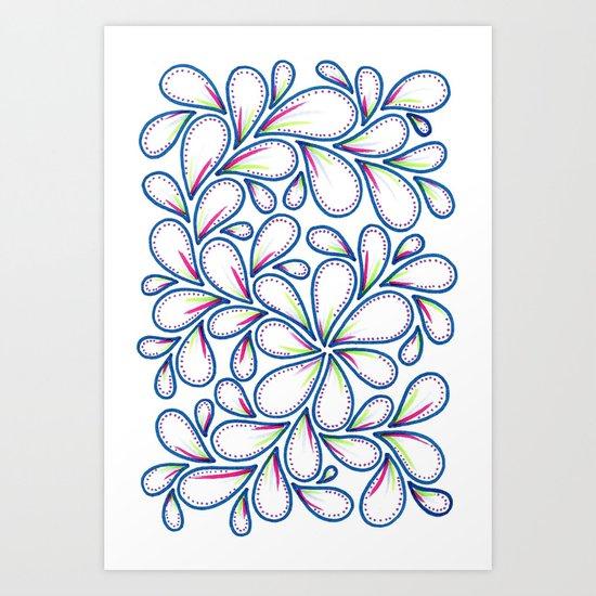 To Give Shape Art Print