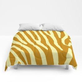 Chocolat Zebra Comforters