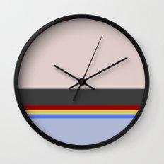 Wesley Crush er - Minimalist Star Trek TNG The Next Generation - 1701 D - startrek - Trektangles Wall Clock
