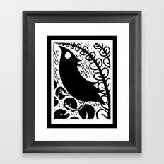 Doodlebird Print Framed Art Print