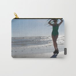 Palm frond Pinup Carry-All Pouch