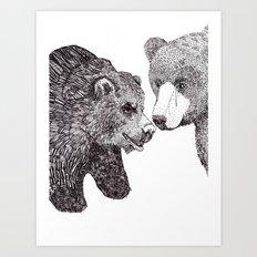 Mom & Dad Art Print