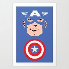 Captain A Art Print