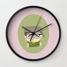 sam shakusky | moonrise kingdom Wall Clock