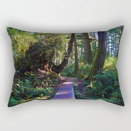 Trail to the beach, Tofino BC Rectangular Pillow