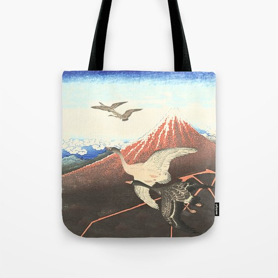 Over the mountain Tote Bag