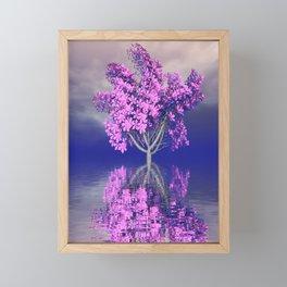 strange light somewhere -25- Framed Mini Art Print