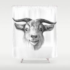 Curious Goat G124 Shower Curtain