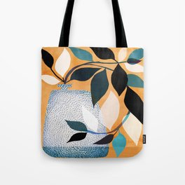 Ivy In The Courtyard Tote Bag