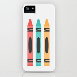 #94 Crayon iPhone Case