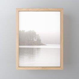 Foggy Landscape Framed Mini Art Print
