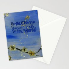 Be the Change  Stationery Cards