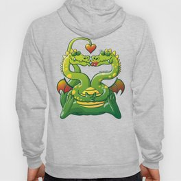 Dragons Madly in Love Hoody