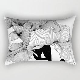 Hibiscus Heaven Rectangular Pillow