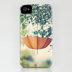 Orange Umbrella  Slim Case iPhone (4, 4s)