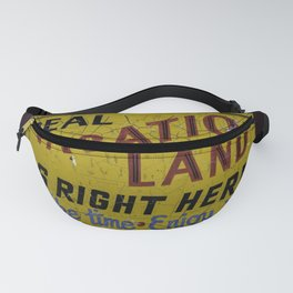 Staycation Fanny Pack