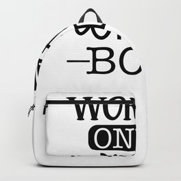 Gym Design Working on My WInter Body Backpack