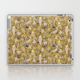 Birds of Prey in Yellow Laptop & iPad Skin