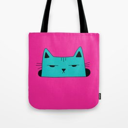 This moody cat wants to hide Tote Bag