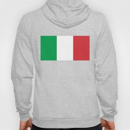 National Flag of Italy, High Quality Image Hoody