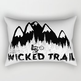 Wicked Trail Rectangular Pillow