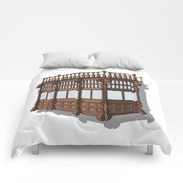 Colonial Balcony - Balcon colonial Comforters