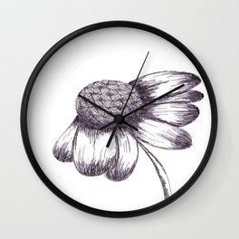 Morning flower Wall Clock