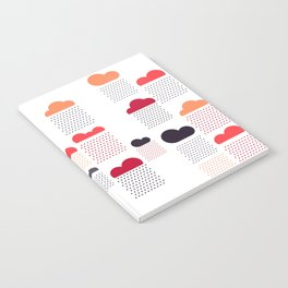 raining pleasure Notebook