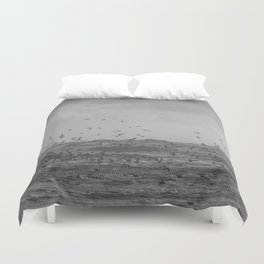 A perfect storm - Hampton Style Duvet Cover