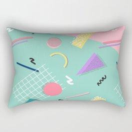 Dreaming 80s Pattern #society6 #decor #buyart Rectangular Pillow