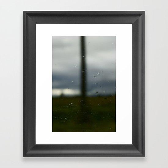 Road of Uncertainty  Framed Art Print