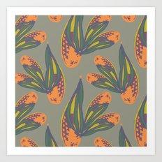 pina flower Art Print