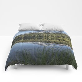 Reflecting a Mountain Comforters