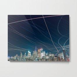 Urban Nights, Urban Lights #1 Metal Print