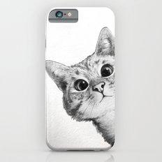 sneaky cat iPhone 6s Slim Case
