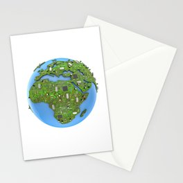 Data Earth Stationery Cards